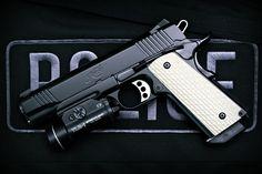 Armas Kimber Warrior Police Militar Weapon Pistol Kimber Papel de Parede