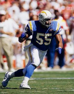 The greatest Charger of them all and one of my favorite athletes of all time. I have that jersey and--bias aside--the Charger throwbacks are the best looking NFL jerseys ever. Period.