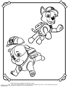 Paw Patrol Coloring Pages 1000 X 1400 240 Kb