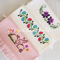Cross Stitch Embroidery, Cross Stitch Designs, Dressmaking