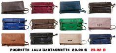 Pour finaliser votre look du moment, Bellenzza a concocté pour vous une sélection de pochette Lulu Castagnette pour un été haut en couleurs !  http://www.bellenzza.com/index.cfm