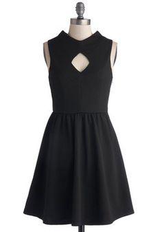 Midnight Mysteries Dress, #ModCloth
