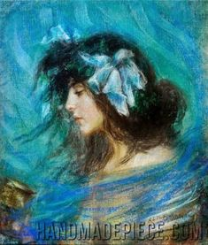 Dreamland, by Alice Pike Barney; famous oil painting reproductions on canvas