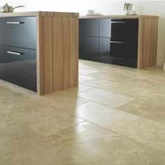 Travertine Honed & Filled Floor Tile