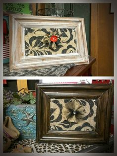 Cabinet door decor. Go to Diana's Plaque's on Facebook for more.