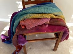 Woven wool blanket ready for wet finishing.