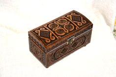Jewelry box Wooden box Ring box Wood box Cigar box by HappyFlying