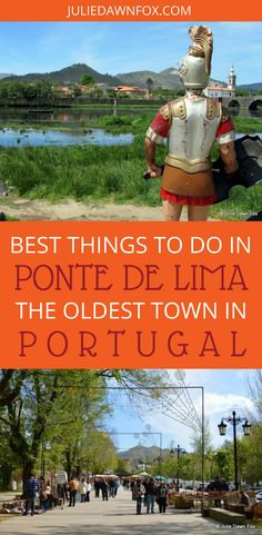 Ponte de Lima in Portugal has got all the right ingredients for the perfect town: plenty of gardens, fancy mansions and other historical buildings, tons of restaurants and it's surrounded by gorgeous Minho countryside. Click through to find out the best things to do in Ponte de Lima, Portugal. | Julie Dawn Fox in Portugal #pontedelima #port