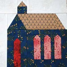 Quilt Block Patterns | Church Block So Many Blocks, So Much Fun!