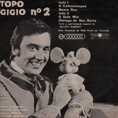 Agildo Ribeiro e Topo Gigio anos 60
