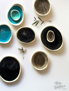 Ebb Tide by Kim Wallace Ceramics. Styling & photography by Karina Jean Sharpe.