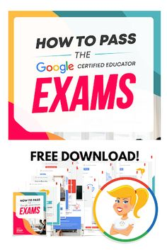 Wondering how to pass the Google Certified Educator exams? Learn How to Pass the Google Certified Educator Exams with this FREE Download! How To Pass Exams, Free Teaching Resources, Middle School Teachers, Technology Integration, Mobile Learning, Educational Technology, Shake, Life Lessons, Tools
