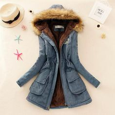 Winter Jacket Women Faux Fur Collar Womens Coats Long Down Parka Lady Hoodies Parkas Warmer Classical Jackets Size S-XXXL
