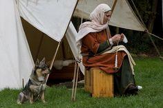 viking woman and dog   Flickr - Photo Sharing!