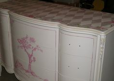 Hand painted furniture…..