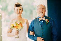 Elise and Renee- Modern Backyard wedding in Sacramento, California by Sarah Maren Photography