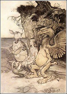 Алиса была сделана в 1907 году Артур Rackham