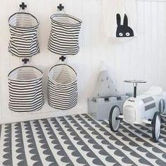 6 flotte og praktiske måder at opbevare vasketøj på