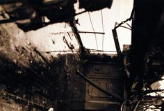 Battle for Iwo Jima, February-March 1945. Battle damage to USS Pensacola (CA 24) caused by Japanese shore batteries on Iwo Jima. Pensacola took six hits from enemy shore batteries as her guns covered operations of the minesweepers close inshore. On 17 February, three of her officers and 14 men were killed. Another five officers and 114 men were injured U.S. Navy photograph, now in the collections of the National Archives.