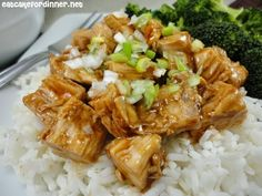 Eat Cake For Dinner: Bourbon Chicken Over Rice - Without the Bourbon