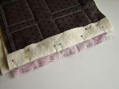 Step 4A - Pin Front Seam Together by Marci Girl Designs, via Flickr