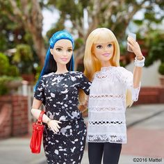 Snapping our style!  #barbie #barbiestyle