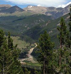 Rocky Mountain National Park. Estes Park, Colorado