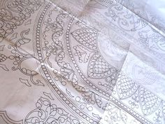 boutis/ french quilting tutorial