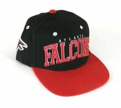 cheap for discount 452e9 45a64 Atlanta Falcons NFL 2 Tone Flatbill Snapback Hat by NFL.  16.54. Represent  your favorite