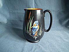Shelley Art Deco Kingfisher Jug 15cm
