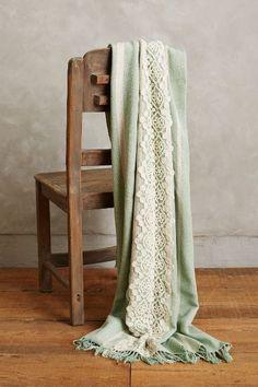 Victoriana Silk Throw - anthropologie.com