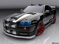 Nissan skyline GT-R    Engine: 3.8L VR38DETT twin-turbo V6    Acceleration 0-100 km/h: 3.0 seconds    Top speed: 320 km/h    Price: 120,400$ to 131,400