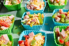 Breakfast Omelet Muffins         I saw this recipe on Pinterest and was intriqued. These breakfast omlets make a perfect quick breakfast ...