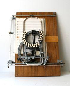 Rare Music Typewriter