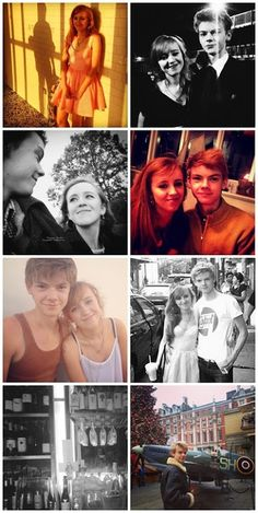 Yes I'm jealous but they are a great couple Thomas Brodie-Sangster and Isabella Melling