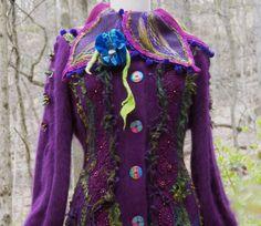 Custom listing for Diane. Woodland custom sweater by amberstudios