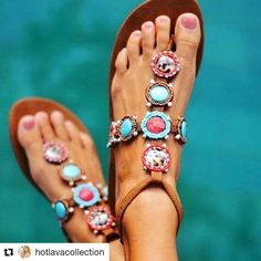 Boho and society for the options and the champions! Multi-shaded texture sewed l. Bohemian Sandals, Boho Shoes, Colorful Fashion, Boho Fashion, Fashion Shoes, Fashion Dresses, Bohemian Style, Boho Chic, Hippie Dresses
