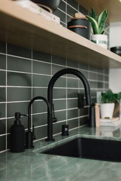 MC office Kitchen by Taylor + Taylor. Minimal Home, Starter Home, Kitchen And Bath, Kitchen Sink, Kitchen Backsplash, Interior Inspiration, Home Kitchens, Kitchen Remodel, Architecture