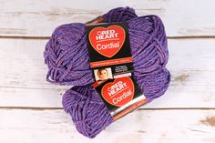 """Enter to win free Red Heart Cordial #Yarn #Contest! One lucky winner will receive three skeins of Cordial yarn in """"All Star"""". The deadline to enter is May 3, 2015 at 11:59:59 p.m. Eastern Time."""