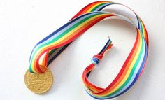 Chocolate medals for birthday party prizes! I wonder how long the average 5 yo could wait before eating?