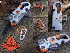 "EDC ""NOMAD"" Survival Multi-Tool by Gabriel A Keossian —Kickstarter"