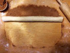 Cinnamon Rolls (cinnamon buns, kanelbullar) dough
