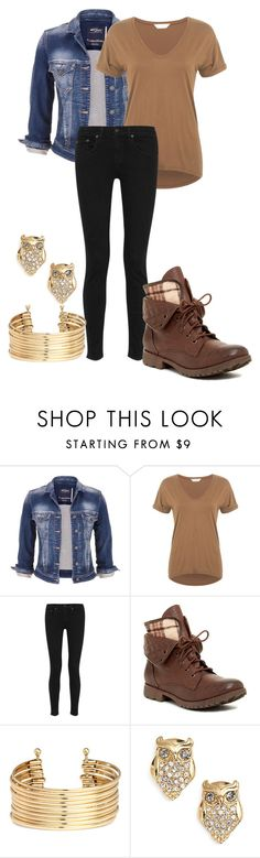 """""""October 28th"""" by lorelei-is-me ❤ liked on Polyvore featuring maurices, Miss Selfridge, rag & bone, Rock & Candy, H&M and Kate Spade"""