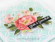 stempel einfach: Pastellig... Geburtstagskarte mit Stampin Up