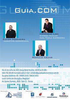 Palestra sobre Marketing Experiencial, no Evento GUIA-COM proferida pelo Consultor, Facilitador e Palestrante, Euler Nogueira (www.IMVCE.com).