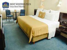 EL MEJOR HOTEL DE MORELIA. En Best Western Plus Gran Hotel Morelia, contamos con confortables y equipadas habitaciones para su comodidad, así como una amplia piscina al aire libre y un restaurante en donde podrá deleitarse con los mejores platillos de la región. Le invitamos a disfrutar de nuestras instalaciones y del servicio de calidad que se merece. ¡Reserve ahora! http://www.bestwesternplusmorelia.com.mx