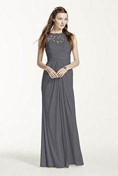 Sleeveless Long Mesh Bridesmaid Dress with Corded Lace Style F15749, Grey, 4 David's Bridal http://www.amazon.com/dp/B010HZMOOC/ref=cm_sw_r_pi_dp_ZU48vb0CBBWBZ