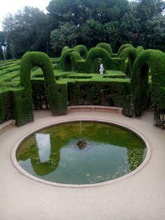 """""""Círculos"""" Parque del laberinto- Barcelona"""