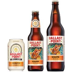 Sculpin IPA - Ballast Point Brewing San Diego, California 7.0% ABV  70 IBU