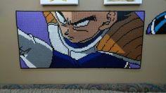 Vegeta Perler Beadsprite from DB Full Color manga by jumpshot22